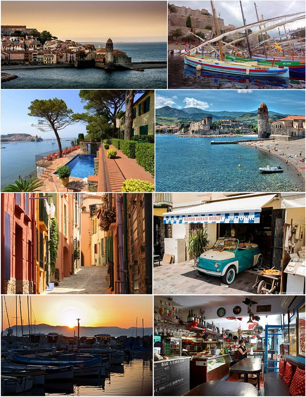 Exploring Collioure in Southern France