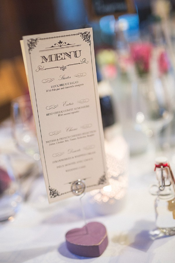 French Wedding Menu Ideas
