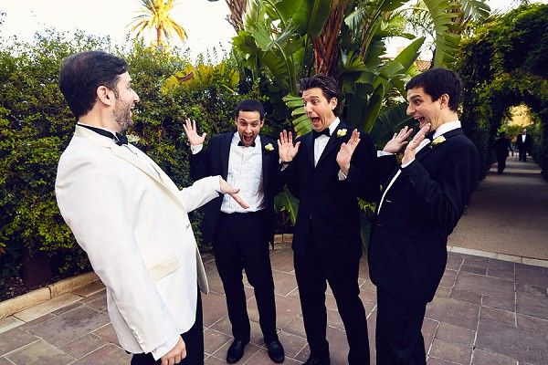 Funny groomsmen picture