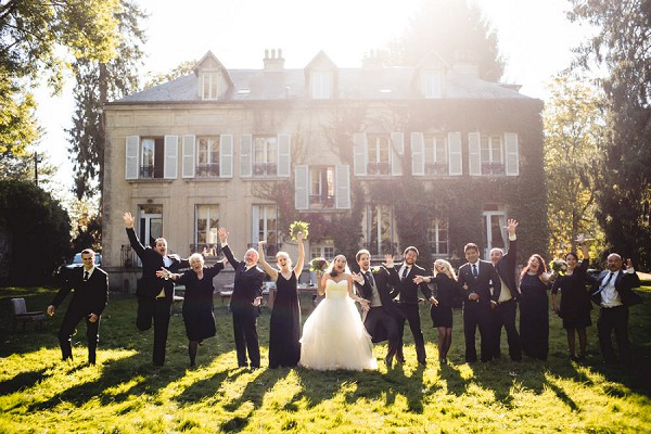 Intimate French wedding