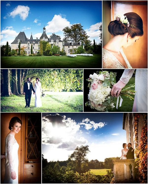 Romantic wedding at Charmant Chateau Ideas