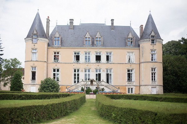 Sunflower Chateau Wedding in Normandy