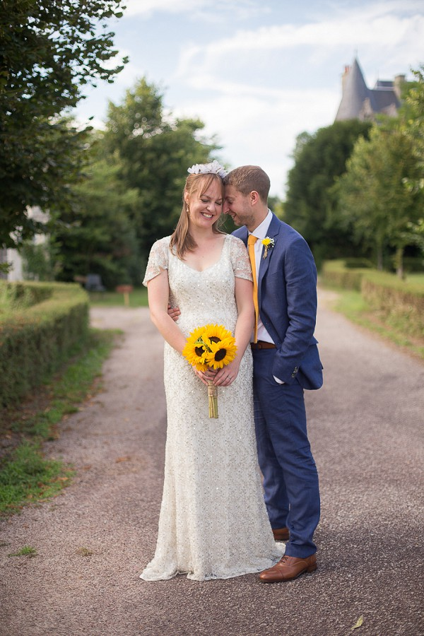 Sunflower Inspired French wedding