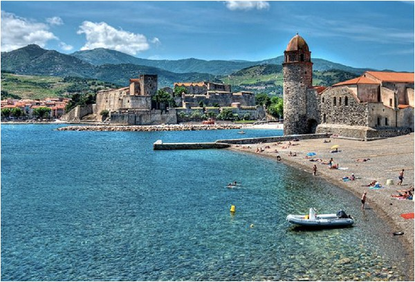beaches in Collioure