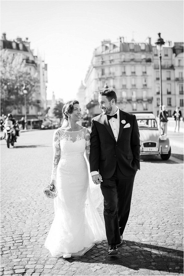 luxury and chic wedding in Paris