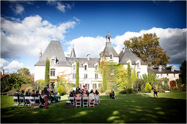 romantic wedding venue in France