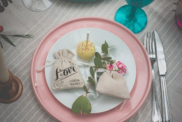 Boho wedding favours