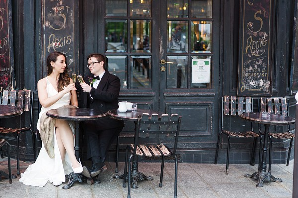 paris cafe elopement