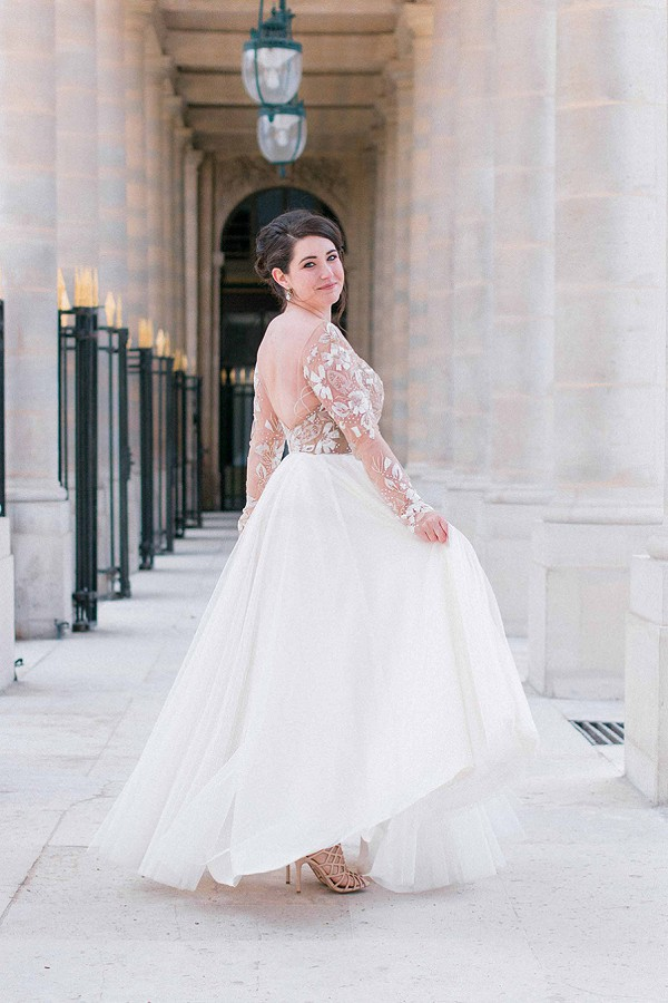 Elegance in France Wedding Paris
