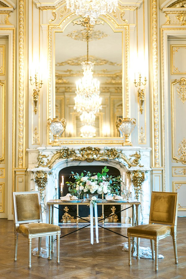 Exquisite Paris wedding venue