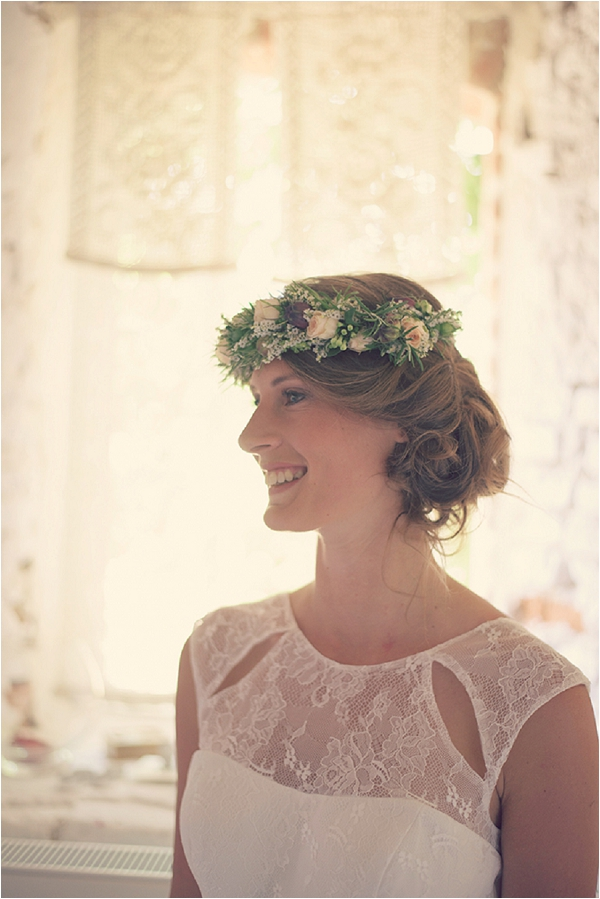 French floral bridal hair ideas