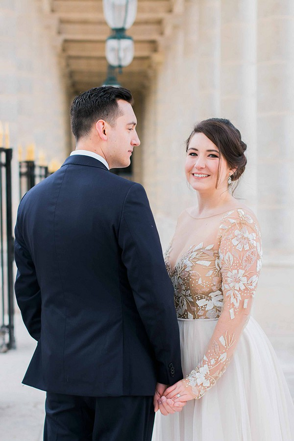 From Ohio to Paris Elopement