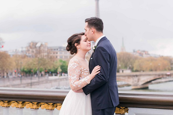 Magical wedding day Paris
