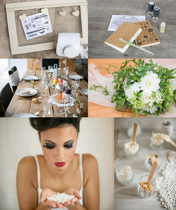 Natural Boho Chic Styled Shoot Snapshot