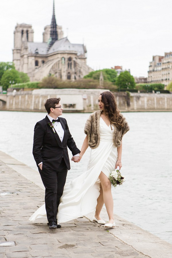 Stylish Paris Elopement