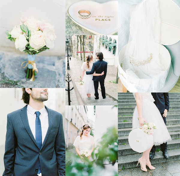 Timeless Wedding Day Elegance In Paris Snapshot