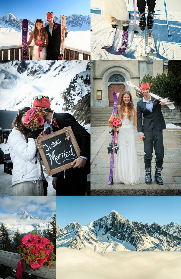 Trash The Dress Shoot in Chamonix Snapshot