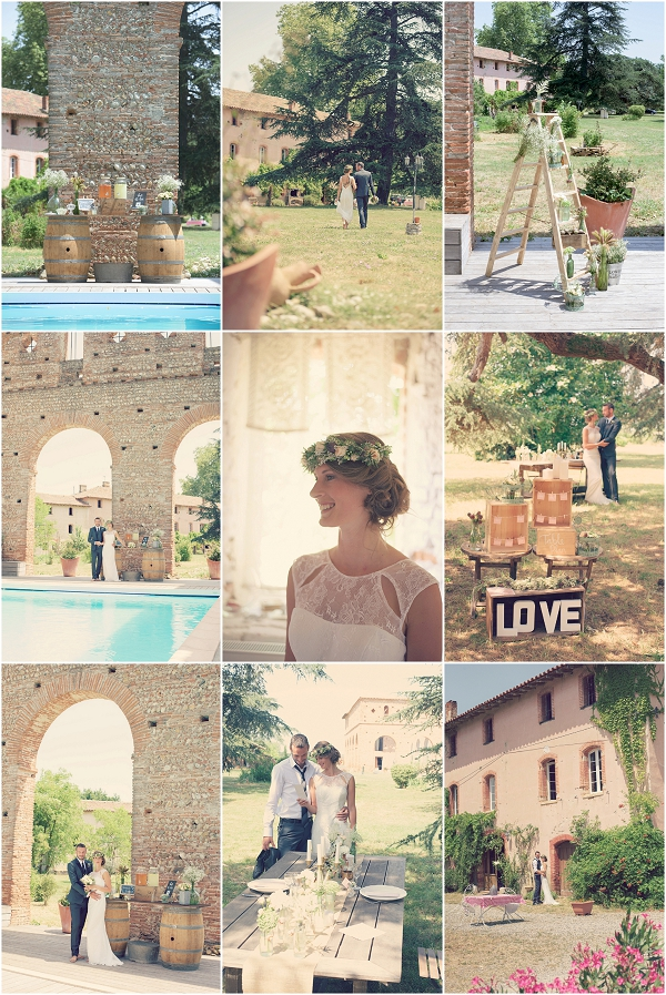 Vintage Wedding Inspiration from France Snapshot