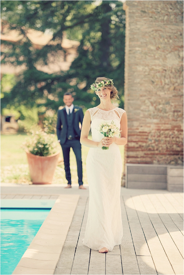 Vintage bridal ideas in France