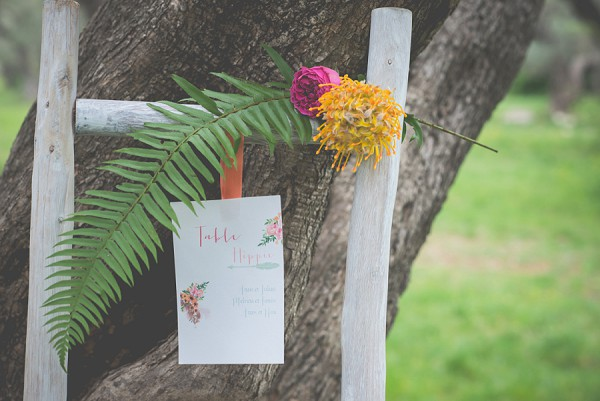 boho table plan