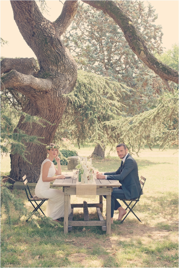 outdoor wedding South of France