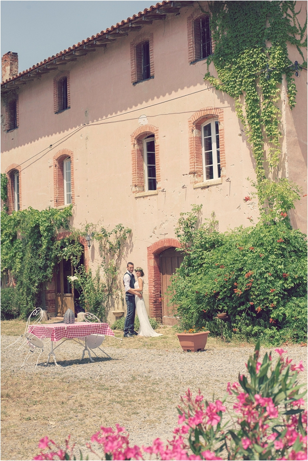 wedding at Domaine du Beyssac