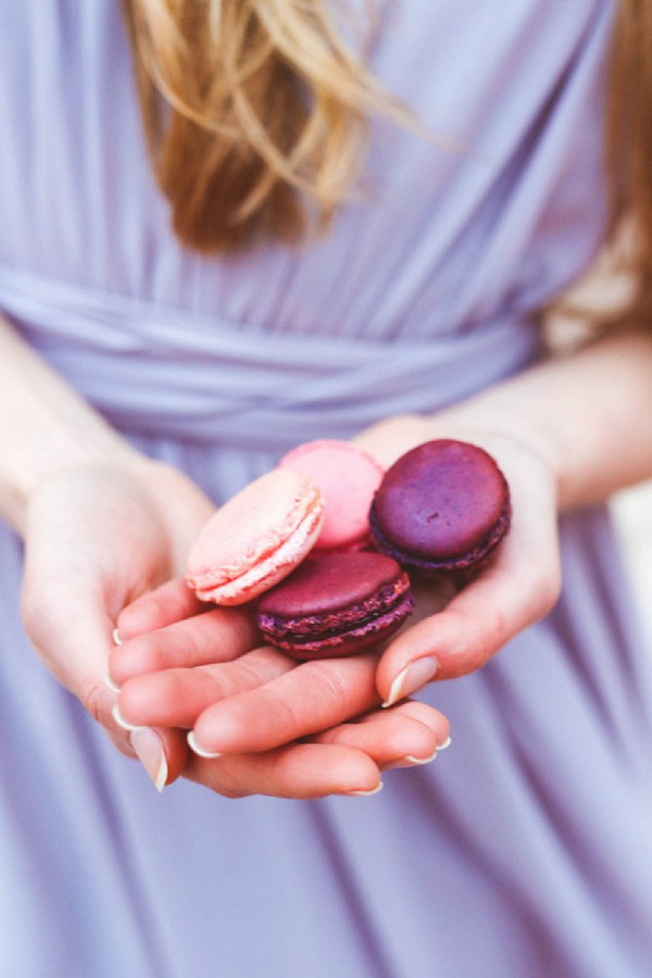 wedding day macarons
