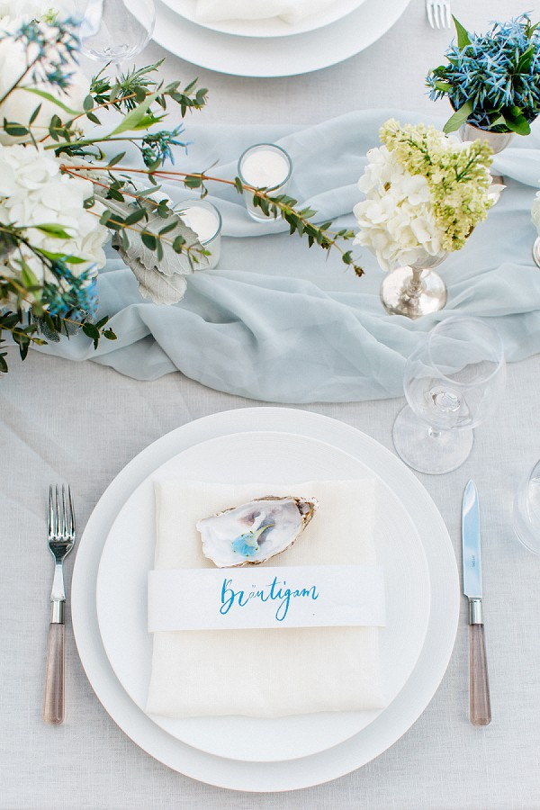 Beach theme French Riviera wedding