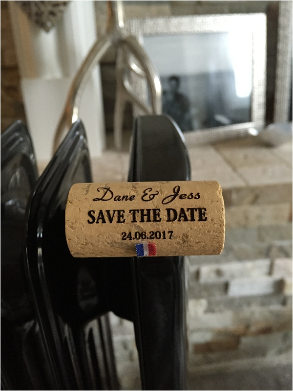 Belle Bride Jess Diy Save The Date Idea French Wedding Style