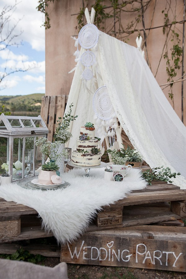 Dream catcher wedding reception