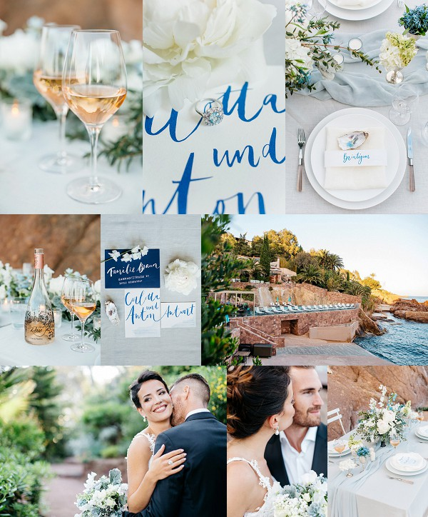 Dreamy Alfresco Côte d'Azur Wedding Inspiration Snapshot