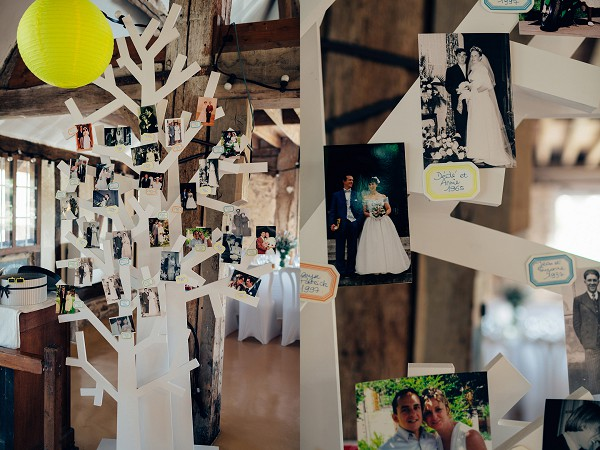 Family tree wedding idea