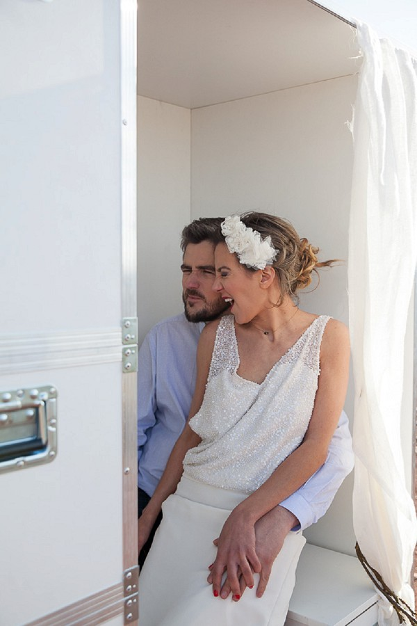 Funny photo booth wedding