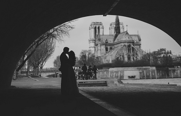 Paris wedding romance