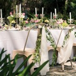garden party wedding inspiration