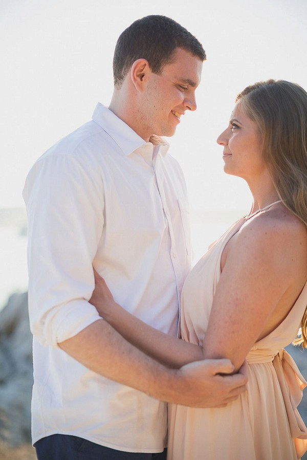 Chic Seaside French Riviera Engagement