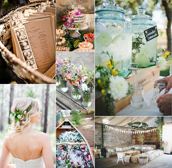 French Farmhouse Wedding Inspiration Board