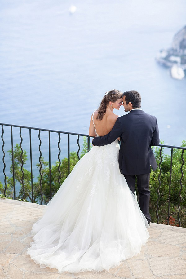 Romantic intimate south of France wedding