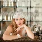 Ziegfeld - Couture Gatsby headpiece