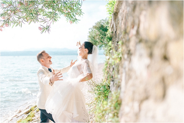 elegant yet fun wedding in South of France