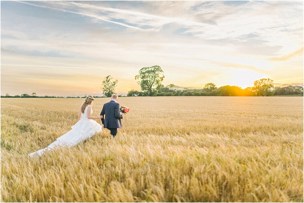 hayfield wedding in France