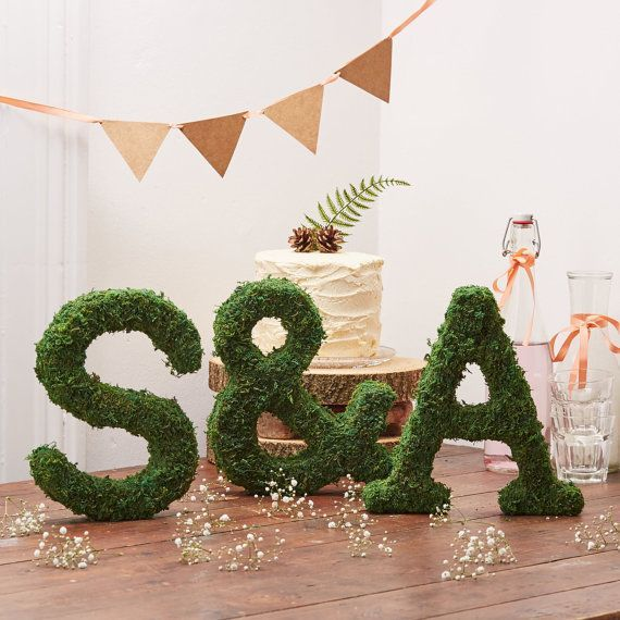 real moss letters