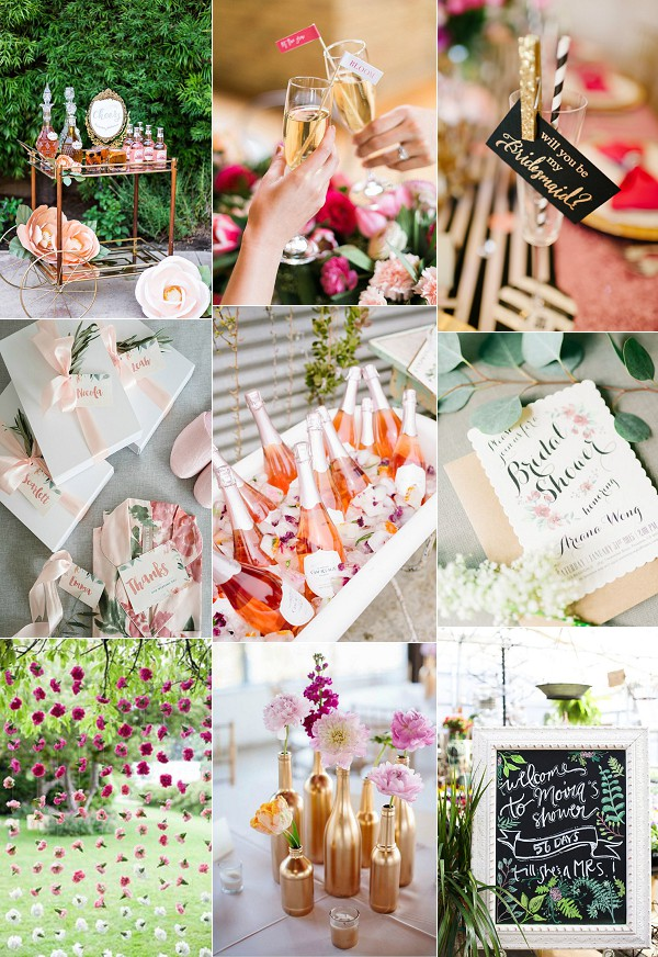 French Garden Bridal Shower Inspiration