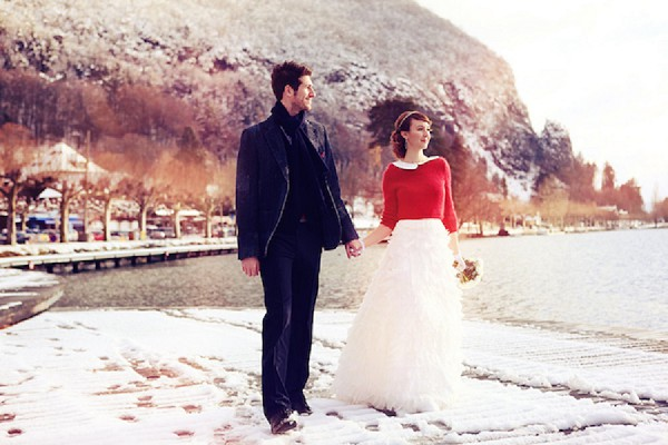 French Winter Wedding