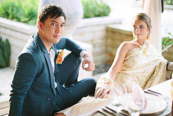 relaxed thailand wedding inspiration