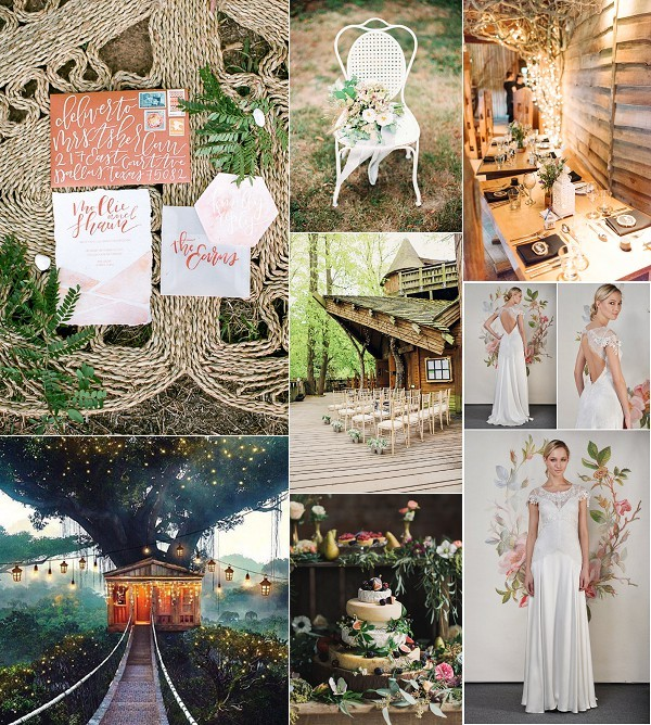 TreeHouse Wedding Inspiration Board