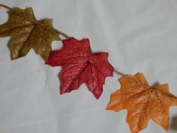 Autumn Fall Leaf Garland