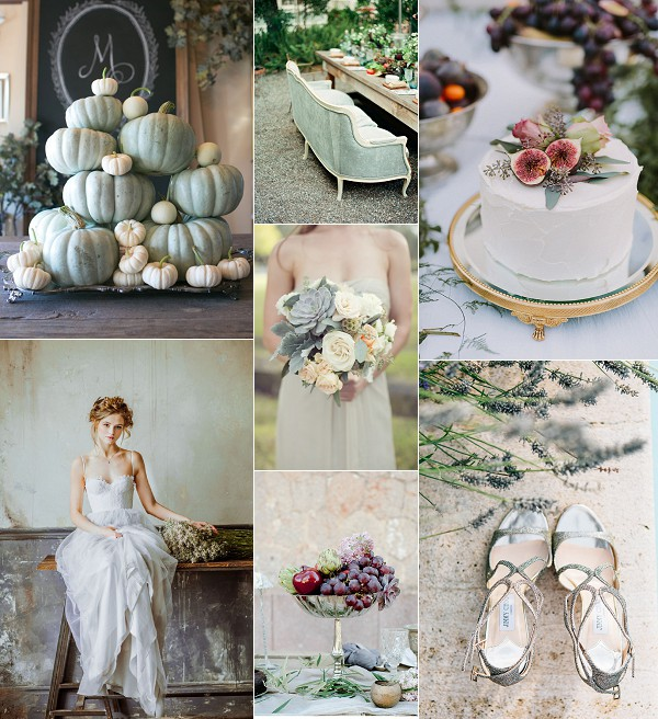 autumn french wedding inspiration board