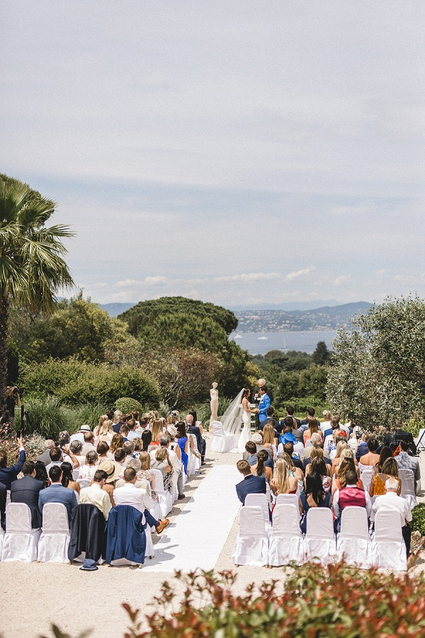 Ceremony with views