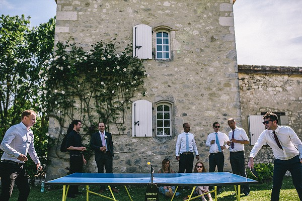 Dordogne Chateau Ping Pong